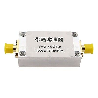 2.45GHz Band Pass Filter SMA Interface 2W for WiFi Bluetooth Zigbee Receiver