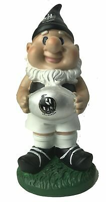 Collingwood Magpies AFL Solar Powered Light-up Ball Design Gnome