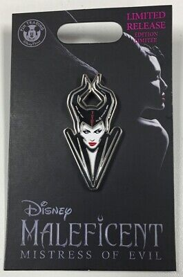 Maleficent Mistress of Evil Brand New Disney Park Limited Release Pin