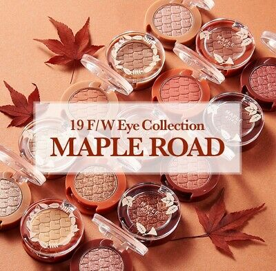 Etude House Look At My Eyes Maple Road 15 Colors Jewel MLBB Glitter Shadow Fall