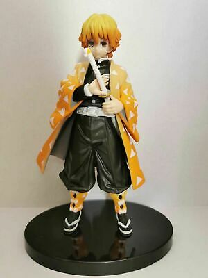 Anime Demon Slayer Kimetsu No Yaiba Vol.4 Agatsuma Zenitsu PVC Figure Toy Gift