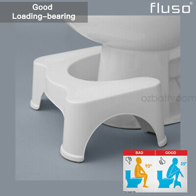 Sit And Squat Squatty Potty Eco Toilet Stool Healthy Colon AU Stock 1X 2X @QLD