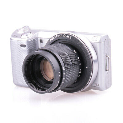Fujian 35mm F1.7 CCTV Movie lens C mount for SONY E Mount camera NEX-3 NEX5  6 7