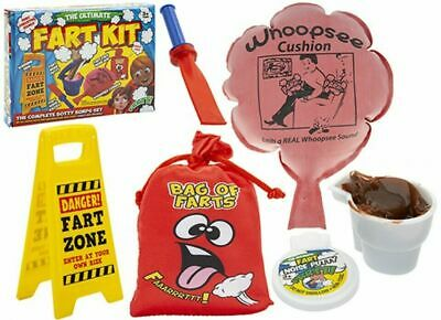 Complete Ultimate Fart Joke Kit Novelty Fun Toy Set Secret Santa Gag Funny Gift