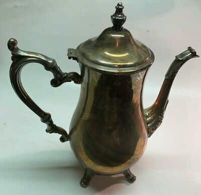 Wm Rogers Silverplate Tea Pot Pitcher