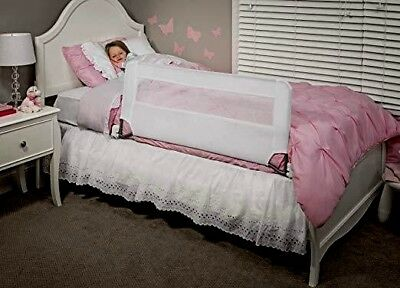 Swing Down Bedrail Rail Regalo Bed Safety Long Guard Toddler White Extra Child B
