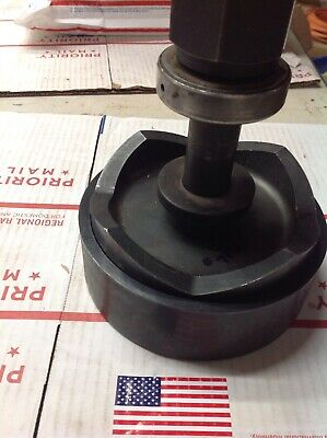 """5"""" Conduit Sz GREENLEE 5005448 Knockout Punch W/Draw Stud Excellent #7272"""
