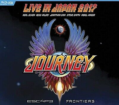 Journey - Live In Japan 2017: Escape/Frontiers ( 2 CD/Blu Ray Disc 2019 ) AOR/Me