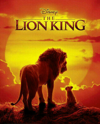 The Lion King Live 2019 DVD - New and Sealed - Free Postage.