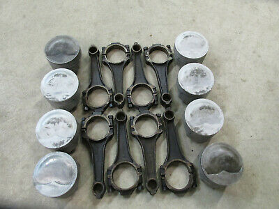 427 ford FE connecting rods and pistons TRW