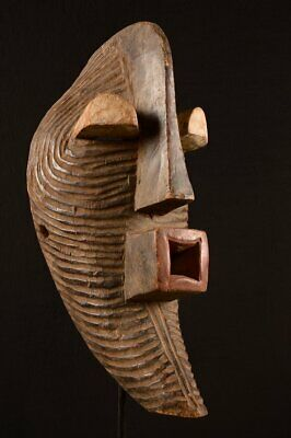 9236  African Old Songye Mask , DR Congo  WOOD CARVED
