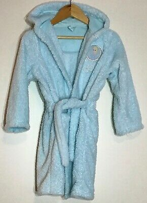 Girls Frozen Elsa Dressing Gown 4-5 M&S <H8556