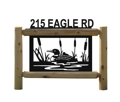 Loons - Clingermans Outdoor Signs - Waterfowl