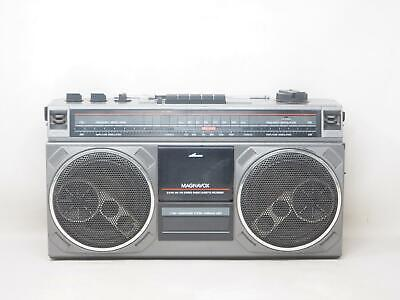 MAGNAVOX D8140 AM/FM Stereo Radio Cassette Recorder Works Great! Free Shipping!