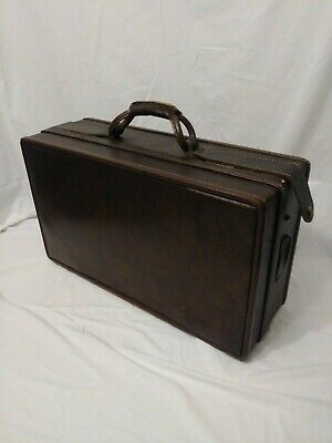 Vintage Mid Century Hartmann Luggage belting leather 21 in.