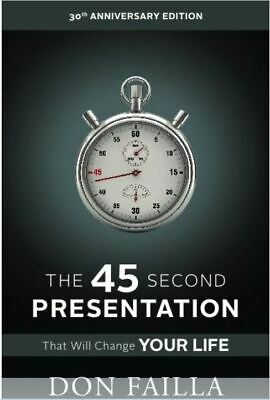 The Four Year Career & The 45 Second Presentation - 2 Paperback Books