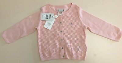 Tommy Hilfiger Baby Pink Cardigan Size 1