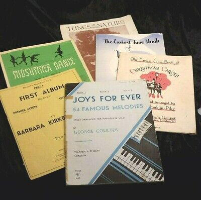 6 x Piano Pieces for Children/Beginners Sheet Music