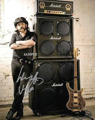 Lemmy Kilmister #2 Reprint Autographed 8X10 Signed Picture Photo Motorhead Band