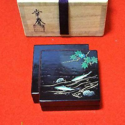 Tea Caddy Ceremony Kougou Sado Japanese Traditional Craft t339