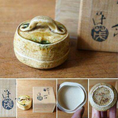 Tea Caddy Ceremony Kougou Sado Japanese Traditional Craft t348