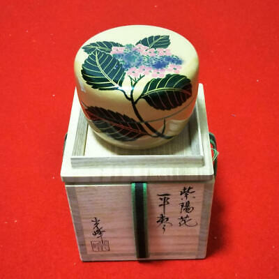 Tea Caddy Ceremony Natsume Sado Japanese Traditional Craft t399