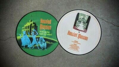 Disney Parks The Haunted Mansion NEW Picture Disc HALLOWEEN Record 1969 50th LP