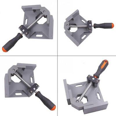 Aluminum Alloy 90 Degree Right Angle Clamp Folder Tool Woodworking Frame Clip B