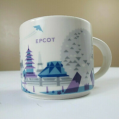Starbucks You Are Here Mug Epcot Disney Park Retired Monorail Walt Disney World