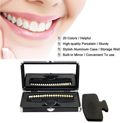 Teeths Whitening 3D Shade GuideColor Comparator With Bleaching Dental Plate K4M3