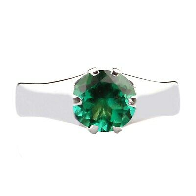 WHOLESALE NATURAL UNTREATED EMERALD ROUND SHAPE 1.4mm FACETED LOOSE STONES