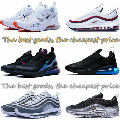 Mens Womens Air Max-270 Running Shoes Casual Light Sport Trainer Sneakers In Box