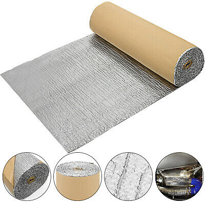 Self Adhesive Bubble Foil Insulation 52ft Commercial Industrial Anti-corrosion
