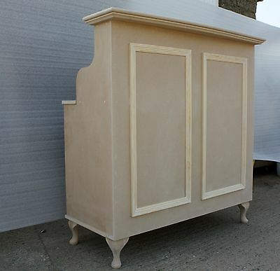 Unpainted MDF Salon Reception Desk - Shabby Chic-other sizes available