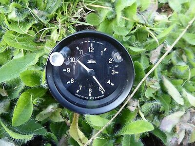 Jaguar E-Type/Xke S2 Or S3 Smiths Time Clock C34368 - Rebuilt With New Parts