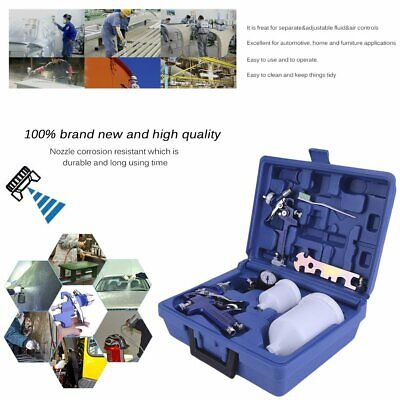 Air Gravity Spray Paint Tool Set With Sprayer Paint Nozzle 0.8 Mm + 1.4 Mmbi3