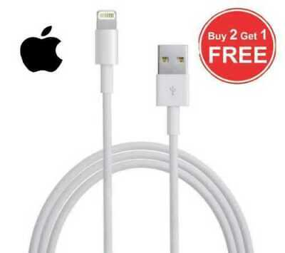 GENUINE apple iphone charger Lightning iphone charger cable 6S 7 8 PLUS X XR XS