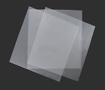"""100 7"""" Plastic Outer Polythene Record Sleeves / 250G"""
