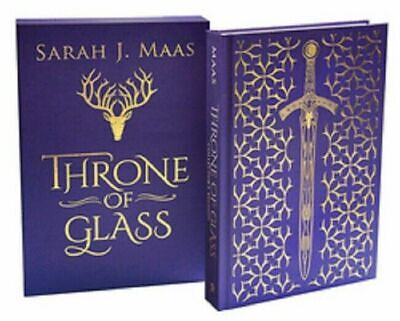 Throne of Glass Collector's Edition Series Book 1 by Sarah J Maas Mass Hardcover