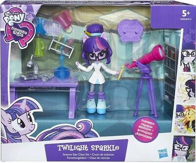 My Little Pony Equestria Girls Twilight Sparkle Science Star Class Playset