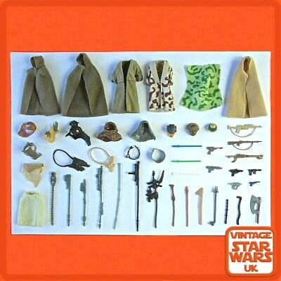 Vintage Star Wars Return Of The Jedi Original Weapons Capes Cloaks Accessories