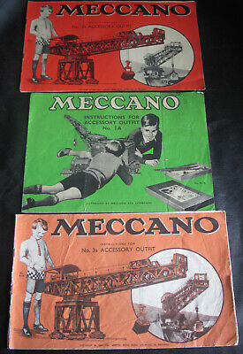 Meccano Instructions for Accessory Outfit plus Bassett-Lowke 1947