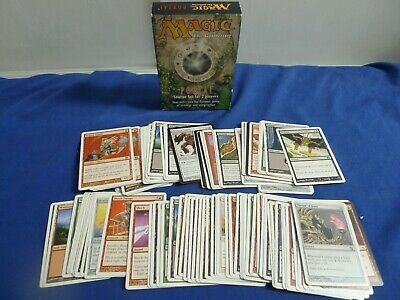 Magic The Gathering Portal 2P Starter Set (mint contents) & 80+ USED deckmasters