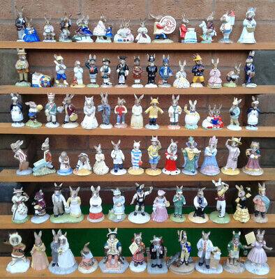 Royal Doulton Bunnykins Figurine Selection - All Boxed.
