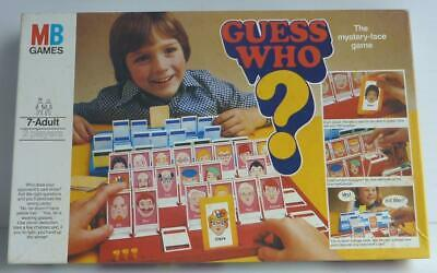 VINTAGE GUESS WHO BOARD GAME, MB, COMPLETE, Very GOOD CONDITION, 1979