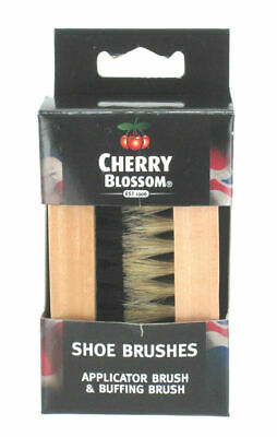 Cherry Blossom Deluxe Twin Brushes Natural FREE POST