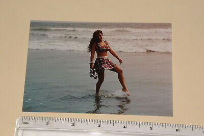 3467, 4x6 glossy color test shot Lisa Ann Adult actress, Venice Beach CA