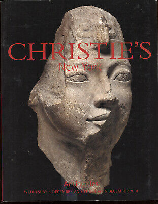 Christie's 2001 Ancient Egypt Greek Roman Antiquity Archaeology Auction Catalog