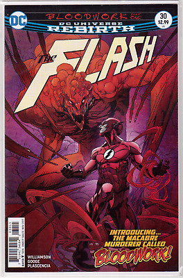 🔥 THE FLASH #30 First App 1st Appearance of Bloodwork DC Comics Unread NM 🔥