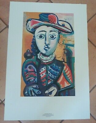 PICASSO JEUNE FILLE ART POSTER 24x36-36705